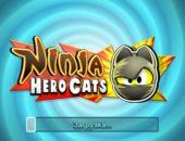 Супер коты против монстров в игре Ninja Hero Cats для Android