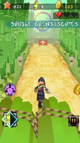 Раннер Ninja Killer: Zombies Run - бесшумный ниндзя для Android
