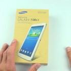 Видео обзор и распаковка планшета Samsung Galaxy Tab 3 7.0