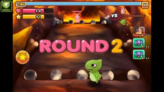 Соривнования зверушек с Альпуса в PengPeng Ball для Android