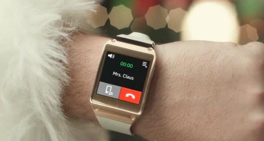 Новогодняя реклама Samsung Galaxy Gear