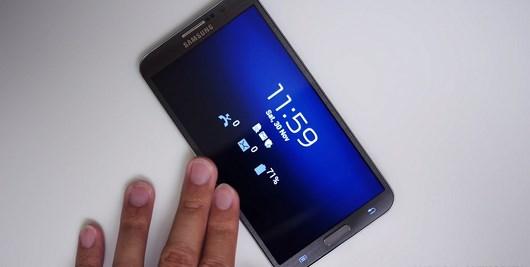 Обзор работы приложений на Samsung Galaxy Round