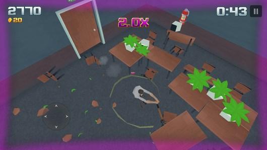 Крушим офис и все что попадет под руку в Smash Office для Android