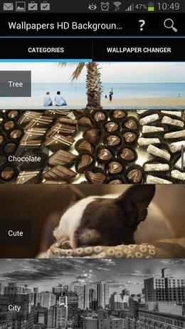 Набор качественных HD-обоев Wallpapers HD Backgrounds для Android