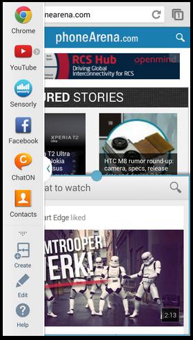 браузер и видео на экране