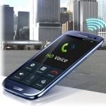 телефон с надписью HD Voice