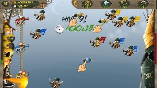 Пчелиные войны в аркаде Beevolution для Android