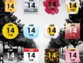 Виджет отображения даты Calendar Widget 2 Lite для Android