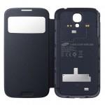 Чехол S-View для Samsung Galaxy S4 - беспроводная зарядка смартфона