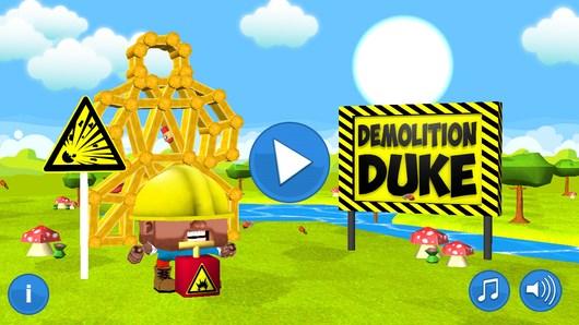 Работаем подрывником в логической аркаде Demolition Duke для Android