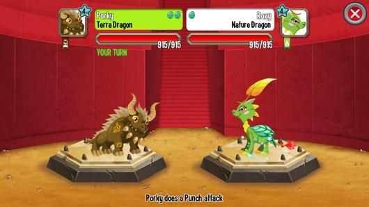 Стратегия про драконов DragonCity для Android