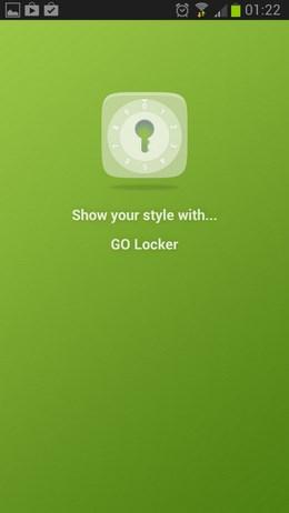 Красивый блокировщик экрана GO Locker для Android