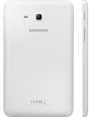 Белый планшет в анфас и профиль