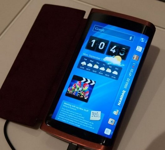 Трехсторонний диплей Samsung Galaxy Note 4