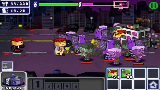 Супергерои против зомби Hero Wars 2 для Android