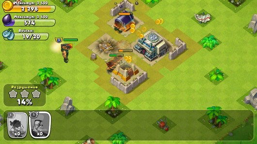 Война в тропиках - стратегия Jungle Heat  для Android