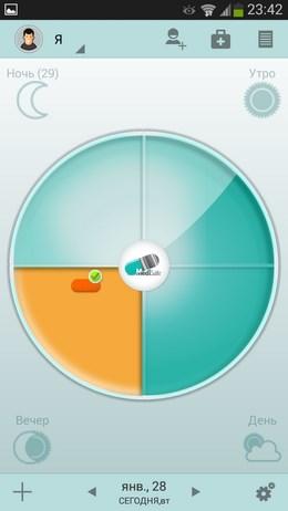 Приложение для напоминания приема медикаментов MediSafe для Android