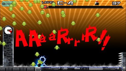 Спаситесь от монстров в Mr.NooO!! для Android