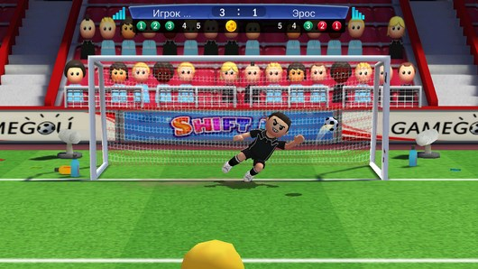 Забиваем голы и защищаем свои ворота - симулятор Perfect Kick для Android