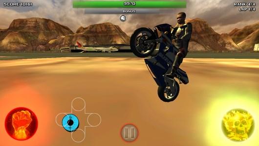 Убойные гонки на мотоциклах Race Stunt Fight для Android