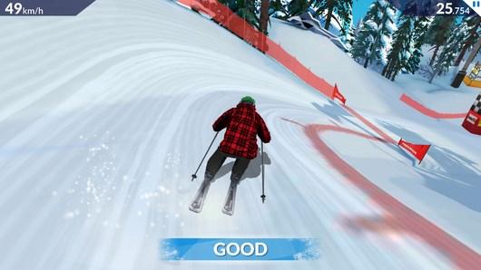 Симулятор горных лыж FRS SKI CROSS для Android