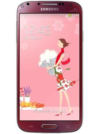 Samsung Galaxy S4 La Fleur красного цвета