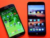 Видео сравнение смартфонов - Samsung Galaxy S4 против Meizu MX3