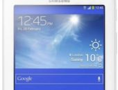Половинка планшета с синим экраном