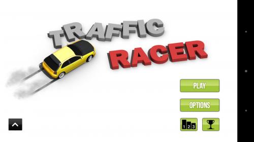 Главное меню Traffic Racer - игра для Android