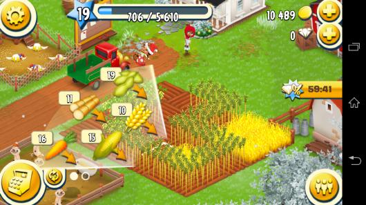 Огород - Hay Day для Android