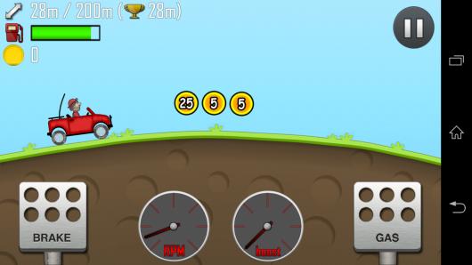 Управление - Hill Climb Racing для Android