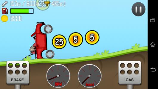 Сбор монет - Hill Climb Racing для Android
