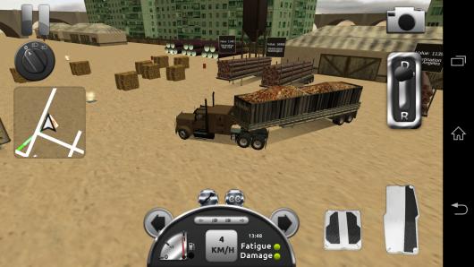 Доставка груза - Truck Simulator 3D для Android