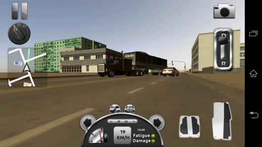Езда по дороге - Truck Simulator 3D для Android