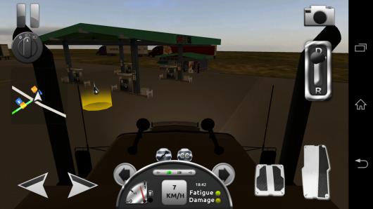 Сервис - Truck Simulator 3D для Android