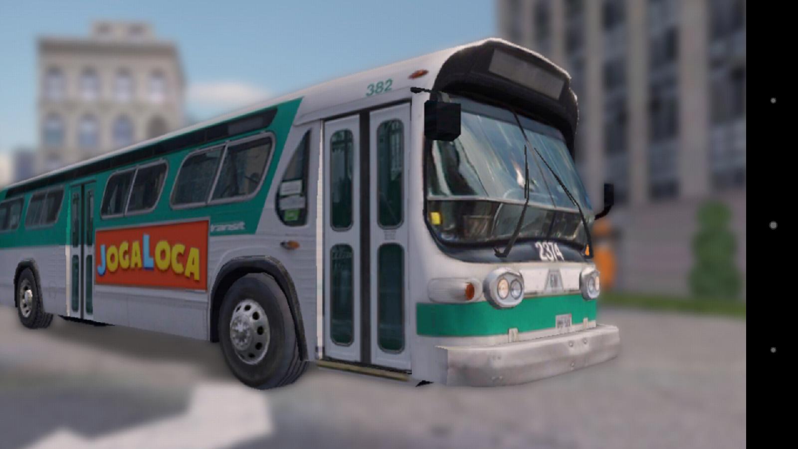 Меню - Bus Parking для Android