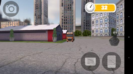 Вид из кабины - Bus Parking для Android