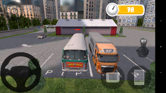 Начало игры - Bus Parking для Android
