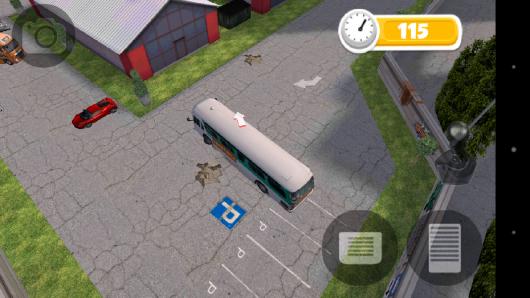 Выезд с парковки - Bus Parking для Android