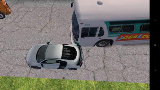 Столкновение - Bus Parking для Android