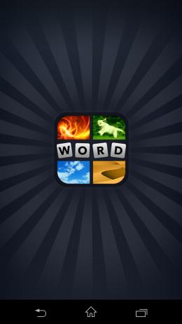 Заставка - 4 фотки 1 слово для Android