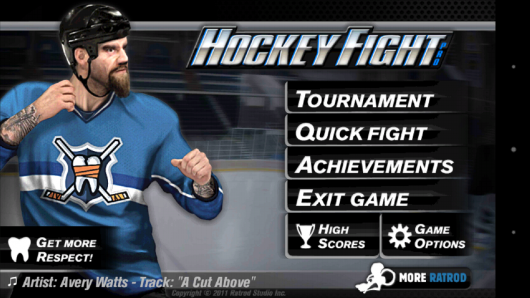 Меню - Hockey Fight Pro для Android