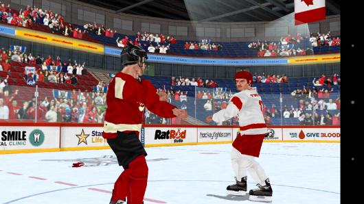 Начало боя - Hockey Fight Pro для Android