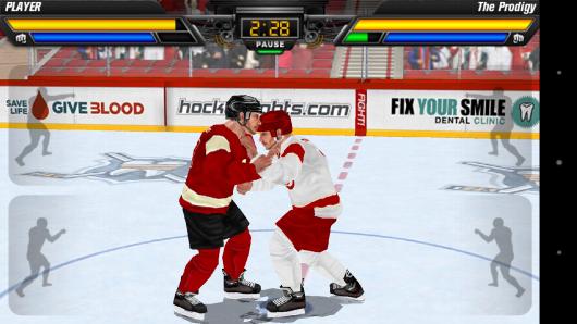 Хоккеисты на льду - Hockey Fight Pro для Android