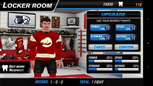 Навыки бойца - Hockey Fight Pro для Android