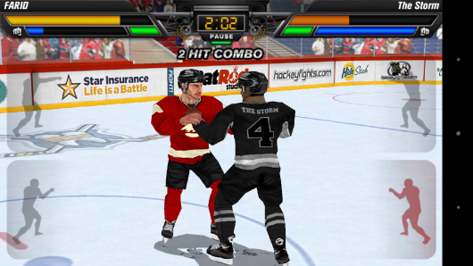 Хоккеисты деруться - Hockey Fight Pro для Android