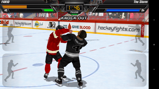 Нокаут - Hockey Fight Pro для Android