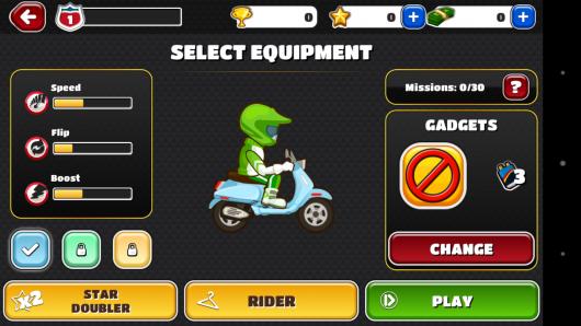 Параметры мотоцикла - Bike Trip для Android