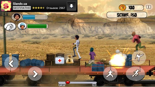 Индийский экшн Sholay: Bullets of Justice для Android