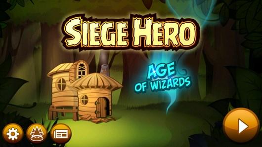 Уничтожаем орков в головоломке Siege Hero Wizards для Android